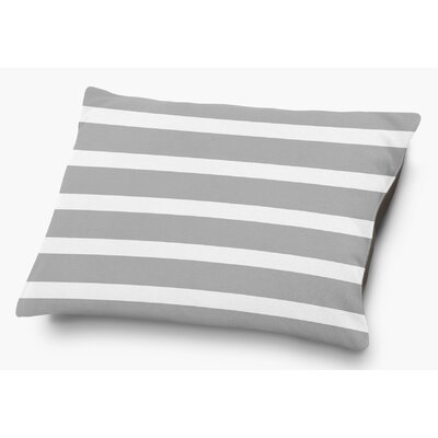 Saybrook Pet Pillow with Super Plush Poly Top Color: Gray