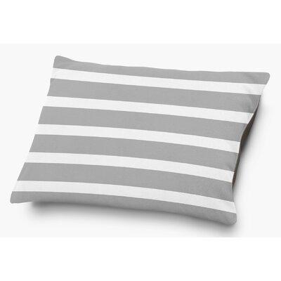 Saybrook Pet Pillow with Super Plush Poly Top Color: Gray
