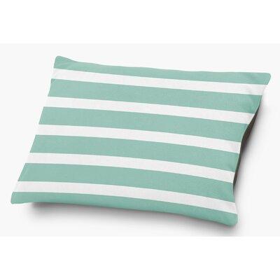 Saybrook Pet Pillow with Super Plush Poly Top Color: Green