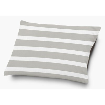 Saybrook Pet Pillow with Super Plush Poly Top Color: Smoke