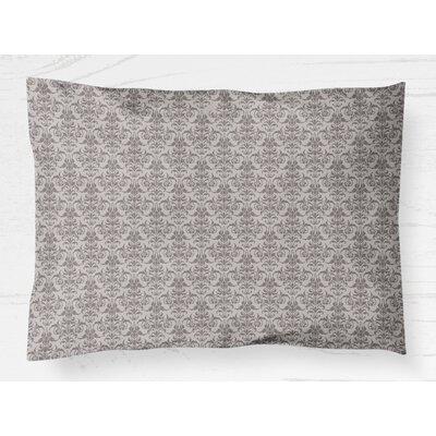 Diana Pillow Case Size: 20 H x 30 W, Color: Plum
