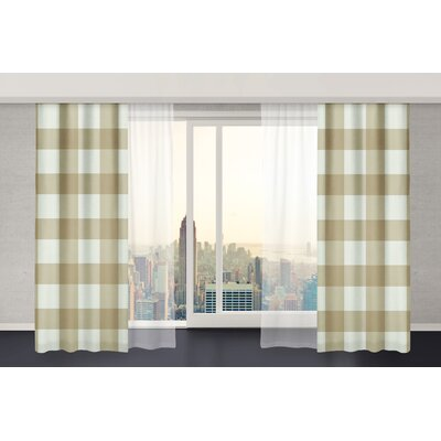 Wildon Home Ophelie Curtain Panel (Set of 2) - Size: 84