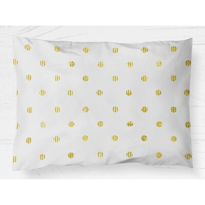 Victoire Pillow Case Size: 20 H x 30 W, Color: Yellow