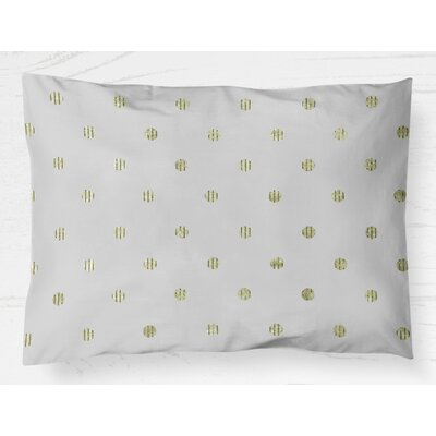 Victoire Lightweight Pillow Sham Size: Standard, Color: Green