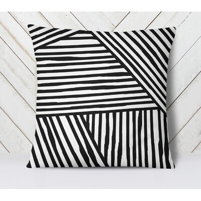 Orion Throw Pillow Size: 16 H x 16 W, Color: Black