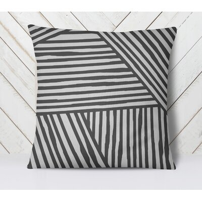 Orion Throw Pillow Size: 18 H x 18 W, Color: Gray