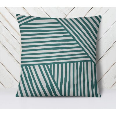 Orion Throw Pillow Size: 20 H x 20 W, Color: Teal