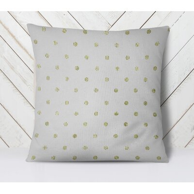 Victoire Throw Pillow Size: 26 H x 26 W, Color: Yellow