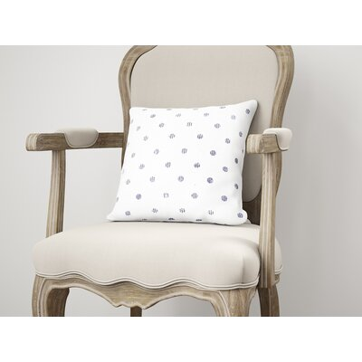 Victoire Throw Pillow Size: 18 H x 18 W, Color: Purple