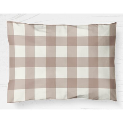 Ophelie Lightweight Pillow Sham Color: Pink, Size: King