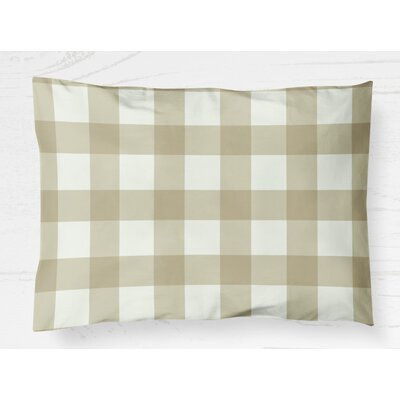 Wysocki Lightweight Pillow Sham Size: King, Color: Yellow