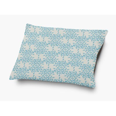 Palmyra Pet Pillow with Super Plush Poly Top Color: Blue