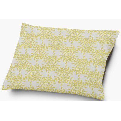 Palmyra Pet Pillow with Super Plush Poly Top Color: Yellow