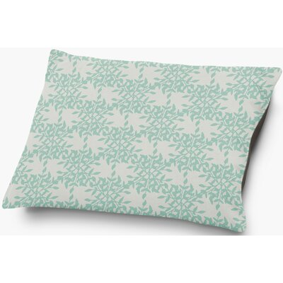Palmyra Pet Pillow with Super Plush Poly Top Color: Green