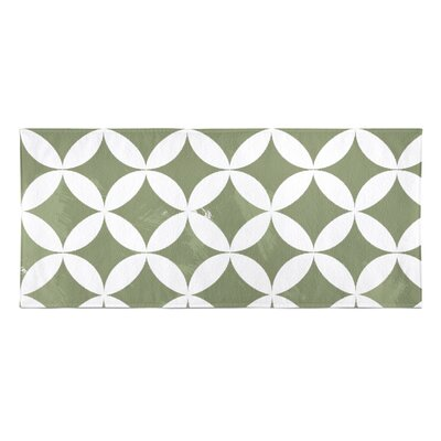Persephone Beach Towel Color: Green
