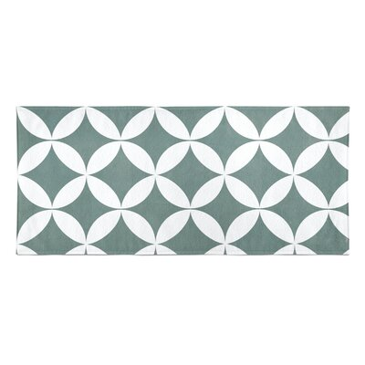 Persephone Beach Towel Color: Teal