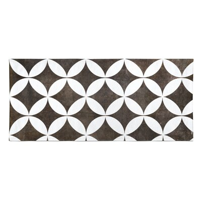 Persephone Beach Towel Color: Brown
