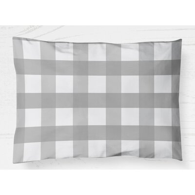 Ophelie Pillow Case Size: 20 H x 40 W, Color: Gray