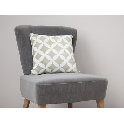Persephone Throw Pillow Size: 22 H x 22 W, Color: Green