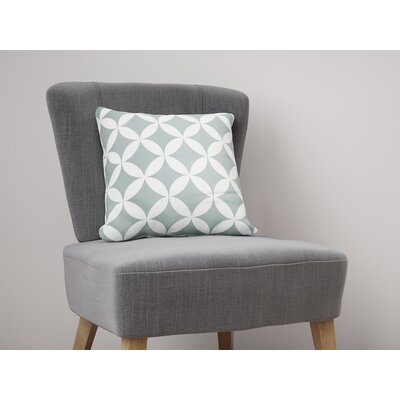 Persephone Throw Pillow Size: 26 H x 26 W, Color: Teal