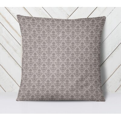 Diana Throw Pillow Size: 18 H x 18 W, Color: Plum