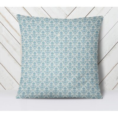 Diana Throw Pillow Size: 16 H x 16 W, Color: Blue