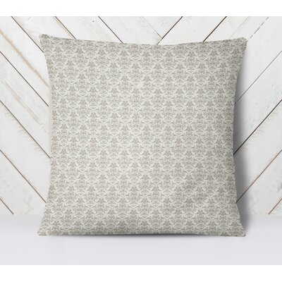 Diana Throw Pillow Size: 18 H x 18 W, Color: Gray