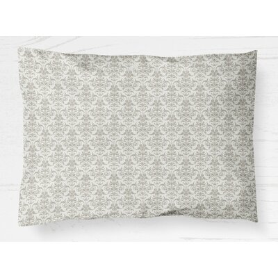 Diana Lightweight Pillow Sham Size: Standard, Color: Gray