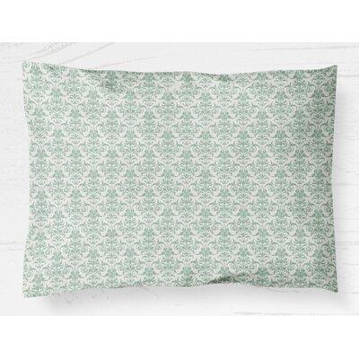 Diana Lightweight Pillow Sham Size: Standard, Color: Green