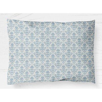 Diana Lightweight Pillow Sham Size: King, Color: Blue