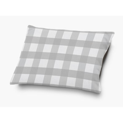 Ophelie Pet Pillow with Super Plush Poly Top Color: Gray