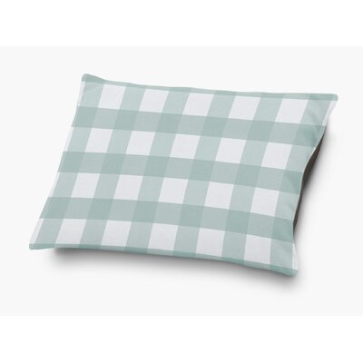 Ophelie Pet Pillow with Super Plush Poly Top Color: Teal