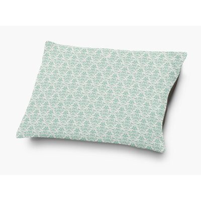 Diana Pet Pillow with Super Plush Poly Top Color: Green