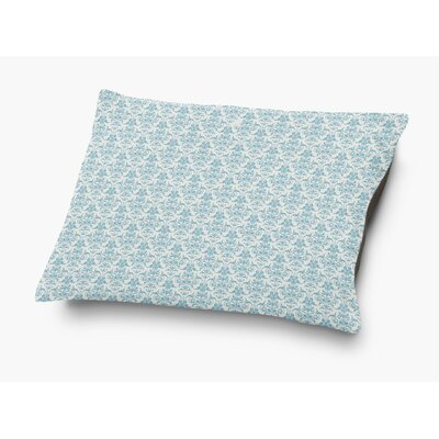 Diana Pet Pillow with Super Plush Poly Top Color: Blue