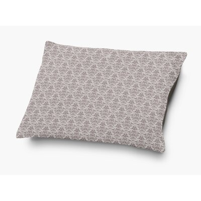 Diana Pet Pillow with Super Plush Poly Top Color: Plum