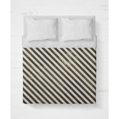 Mellina Lightweight Duvet Cover Size: King, Color: Brown