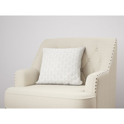 Diana Throw Pillow Size: 24 H x 24 W, Color: Gray