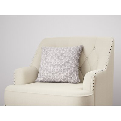 Diana Throw Pillow Size: 22 H x 22 W, Color: Plum