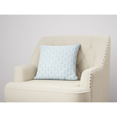 Diana Throw Pillow Size: 18 H x 18 W, Color: Blue