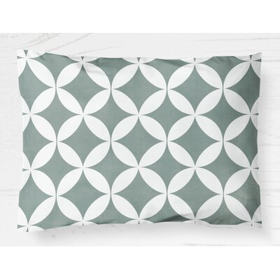 Persephone Lightweight Pillow Sham Size: King, Color: Teal
