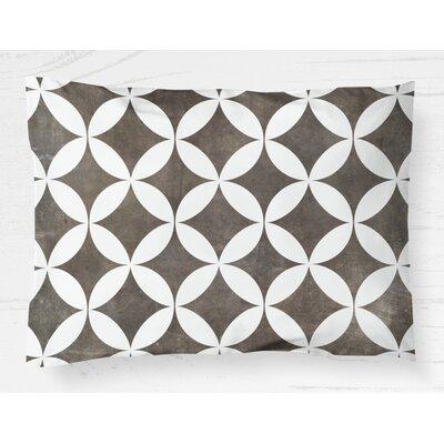 Persephone Lightweight Pillow Sham Size: Standard, Color: Brown