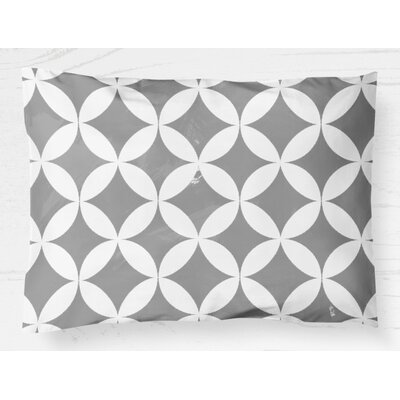 Persephone Lightweight Pillow Sham Size: Standard, Color: Gray