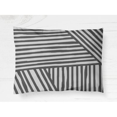 Domenico Pillow Case Size: 20 H x 30 W, Color: Gray