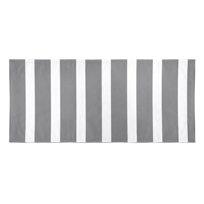 Saybrook Beach Towel Color: Gray
