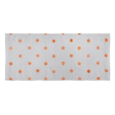 Victoire Beach Towel Color: Orange