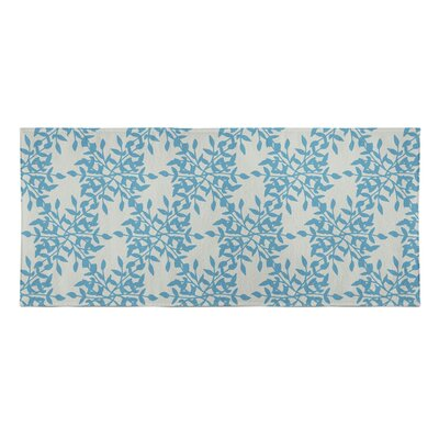 Palmyra Beach Towel Color: Blue