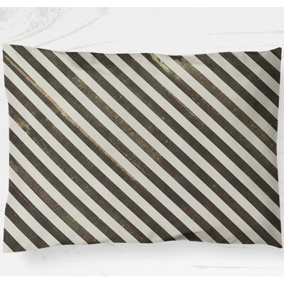 Mellina Pillow Case Size: 20 H x 40 W, Color: Brown
