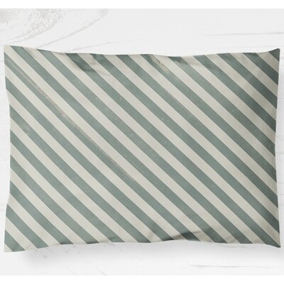 Mellina Pillow Case Size: 20 H x 40 W, Color: Green