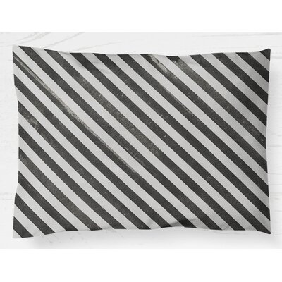 "Mellina Pillow Case Size: 20"" H x 40"" W, Color: Black CST42799 29916742"