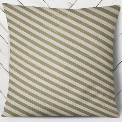 Mellina Throw Pillow Size: 26 H x 26 W, Color: Yellow